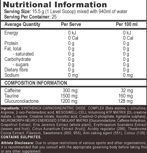 aps-morph3-nutritional-information