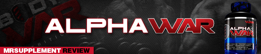 Body War -  Alpha War -  MrSupplement Review