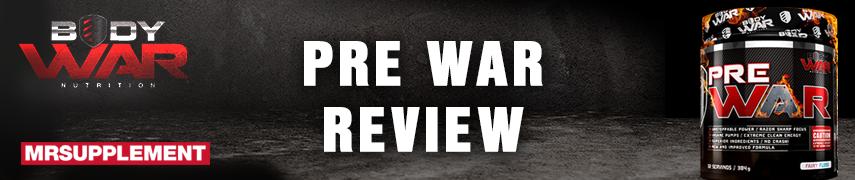 Body War - Pre War