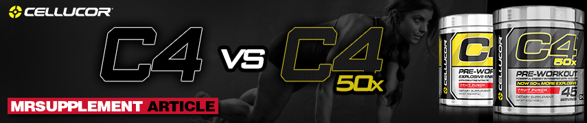 Cellucor C4 Vs C4 50x - Mrsupplement Article