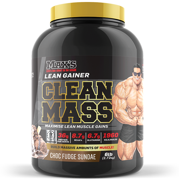 Max's Clean Mass - MrSupplement