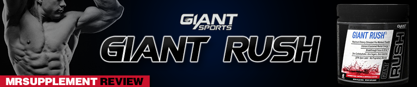 Giant Sports - Giant Rush - MrSupplement Review