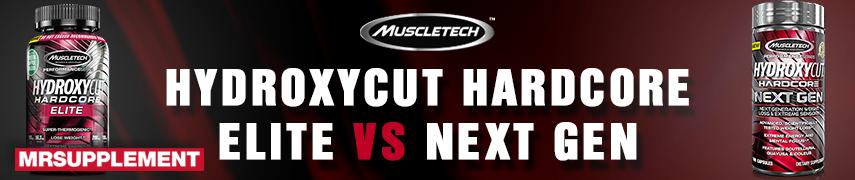 Hydroxy Hardcore Elite VS Next Gen