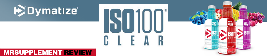 Dymatize Iso Clear 100 - MrSupplement Review