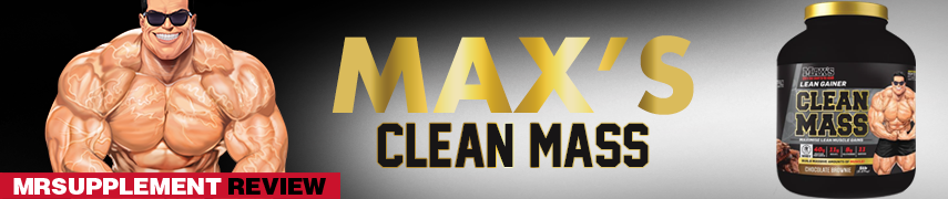 Max's Clean Mass - MrSupplement Review