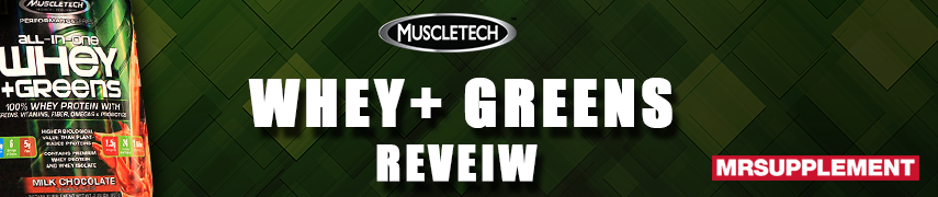 MuscleTech Whey-Greens