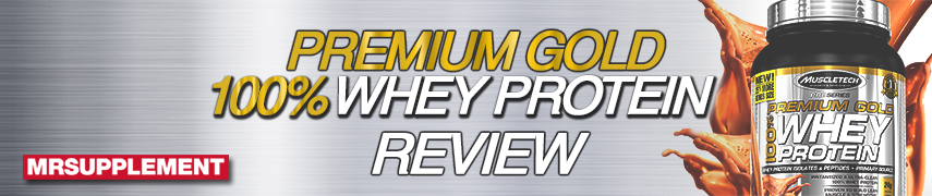 Muscletech Premium Gold 100% Whey Protein