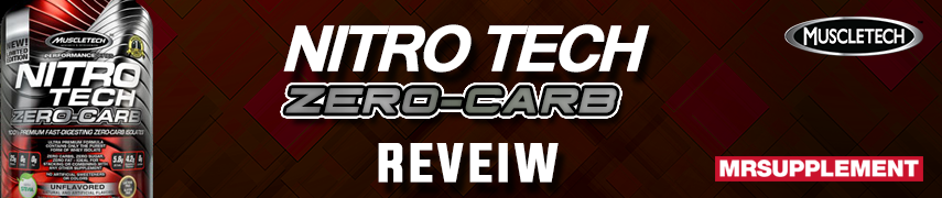 MuscleTech Nitro Tech Zero-Carb