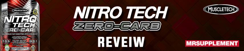 MuscleTech Nitro Tech Zero-Carb