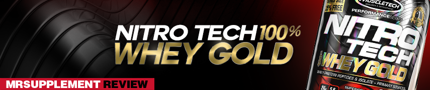 Nitrotech 100% Whey Gold - MrSupplement Review
