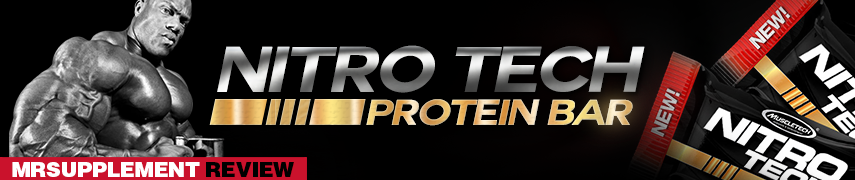 Nitro Tech Protein Bar - MrSupplement Review