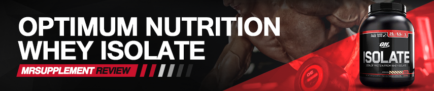 ON Performance Whey Isolate review
