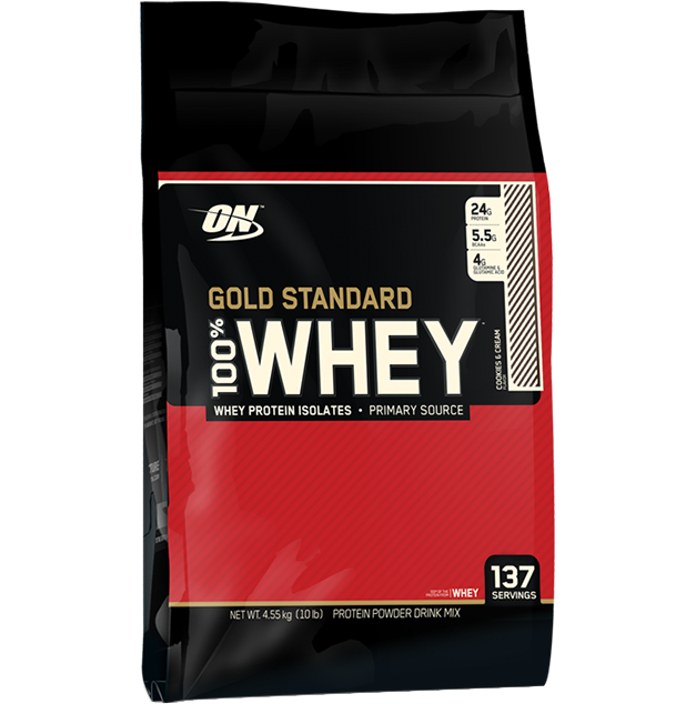 Optimum Nutrition Gold Standard 100% Whey 4.55kg