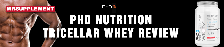PhD Nutrition Tricellar Whey Review