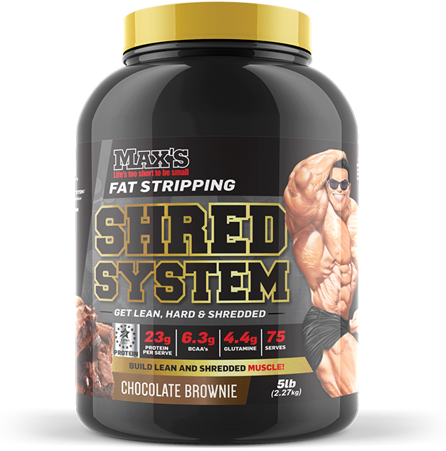 Max's Shred System - MrSupplement