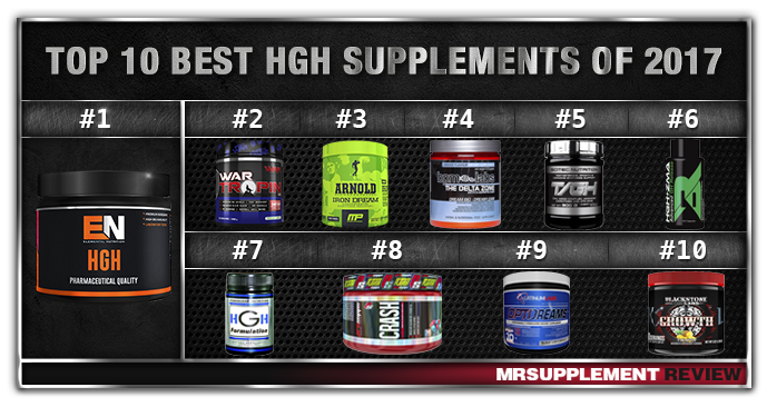 Top 10 Best HGH Supplements 2017