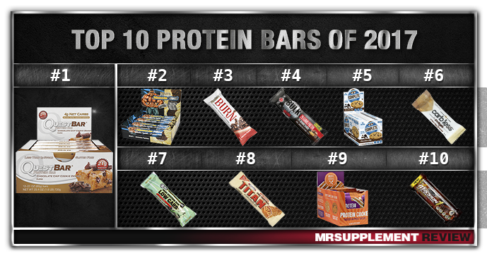 Top 10 Protein Bars 2017
