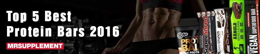 Top 5 Best Protein Bars Review - 2016