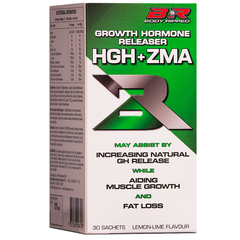 Body ripped HGH + ZMA