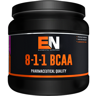 Elemental Nutrition 8:1:1 BCAA