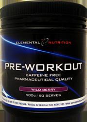 Elemental Nutrition Pre-Workout