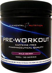 Elemental nutrition Pre-Workout