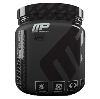 MusclePharm Assault Black
