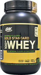 Optimum Nutrition Gold Standard 100% whey Natural