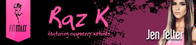 Raz K featuring raspberry keytones