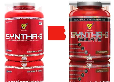 Syntha 6 vs Syntha 6 Isolate