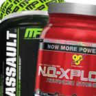 MusclePharm Assault vs NO Xplode