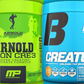Beast Creature vs Arnold Iron Cre3