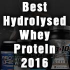 Best Hydrolysed Whey Protein 2016