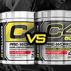 Cellucor C4 vs Cellucor C4 50x