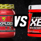 BSN NO Xplode XE vs Cellucor C4 50X
