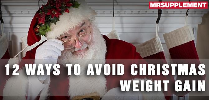 12 Ways to Avoid Christmas Weight Gain
