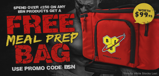 FREE BSN Meal Prep Bag!