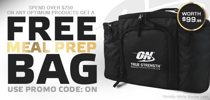 FREE ON Meal Prep Bag!