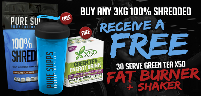 Free Fat Burner & Shaker