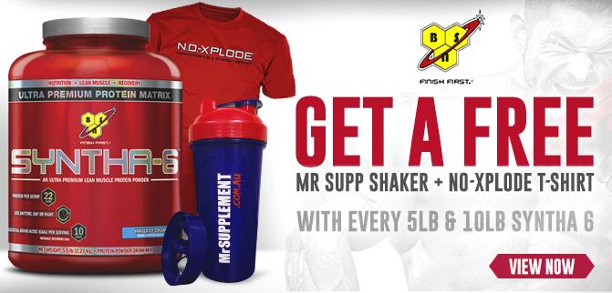 FREE Shaker + T-Shirt!