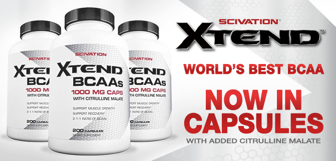 World's Best BCAA Now in Capsules