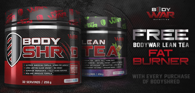 FREE Lean Tea with every Body Shred