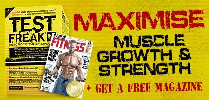 Maximize Muscle, Growth & Strength + Get A Free MAG