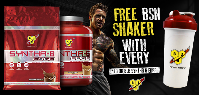 Free Shaker With Syntha 6 Edge