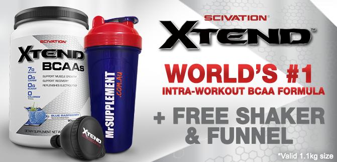 Xtend World's Best BCAA + FREE Shaker & Funnel