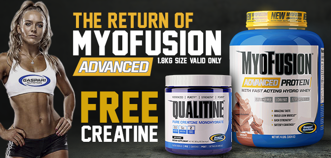 The Return Of Myofusion + FREE Creatine
