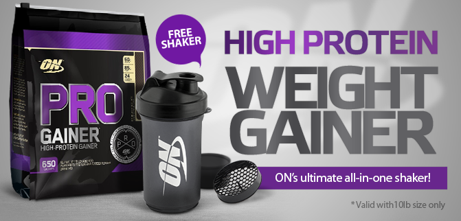 Optimum Nutrition Pro Gainer - Free Shaker!