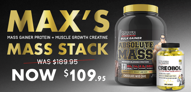 Max's Mass Stack - Now Only $109.95