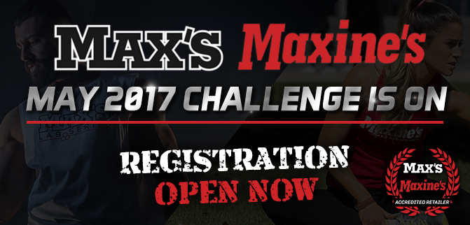 Max's & Maxine's May 2017 Challenge Is Now Open!