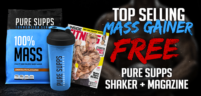 Top Selling Mass Gainer + FREEBIES!